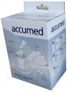 Akcesoria do inhalatora Accumed NF100 - nowego typu